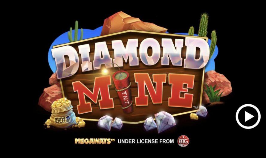 หมุนวงล้อแสนสนุกไปกับสล็อต Diamond Mine Megaways